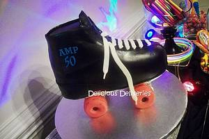 Roller Skate Cake - Cake by DeliciousDeliveries