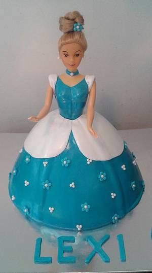 Cinderella doll cake - Cake by m1bame