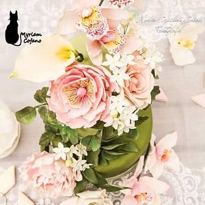 Wedding cake  - Cake by myriamcofano