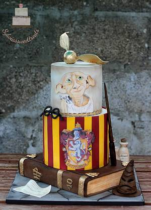 Harry Potter  - Cake by Sylwia