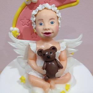 Matilde's Christening Cake - Cake by Valeria Antipatico