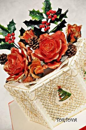 Christmas cake - Cake by Anna