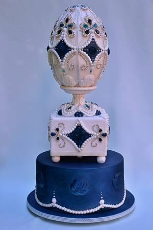 My Faberge egg - Cake by Zuzana Bezakova