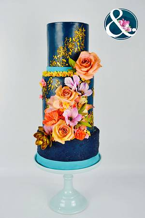 Wedding Cakes Inspired By Fashion A Worldwide Collaboration - Cake by José Pablo Vega