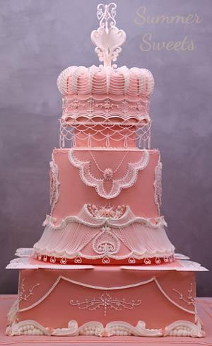 Wedding cake  - Cake by Samar ehab