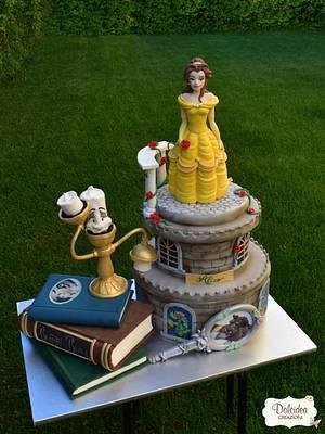 Torta La Bella e la Bestia - Beauty and the Beast cake - Cake by Dolcidea creazioni