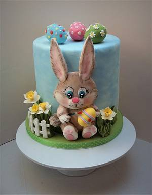 Easter bunny cake - Cake by Darina