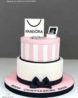 Pandora cake - Cake by Mariana Frascella