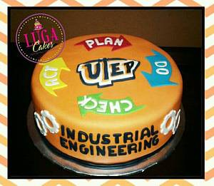 Industrial engineering cake - Cake by Luga Cakes