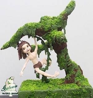 Tarzan - Cake by Gateau