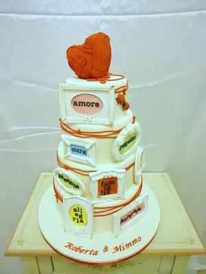 Wedding is... - Cake by Diletta Contaldo