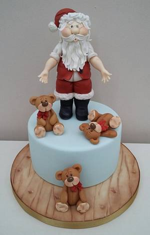 The Night Before Christmas  - Cake by The Buttercream Pantry