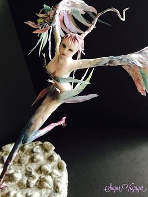 Harpy - Fantastic Creatures Challenge  - Cake by sugar voyager