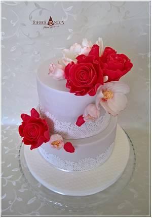 Elegant cake - Cake by Tortolandia