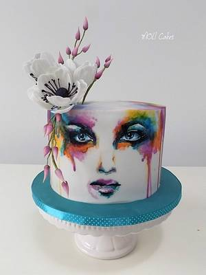Colours  - Cake by MOLI Cakes