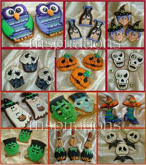 Halloween cookies - Cake by Inspiration by Carmen Urbano