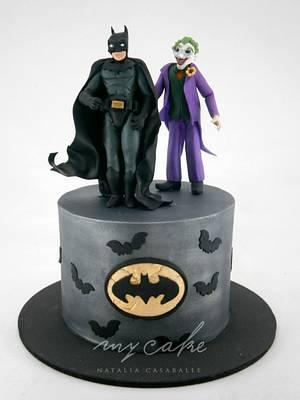 Batman y Guason - Cake by Natalia Casaballe