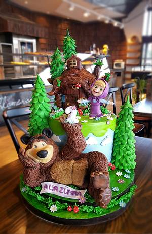 Masha and the bear - Cake by Şule