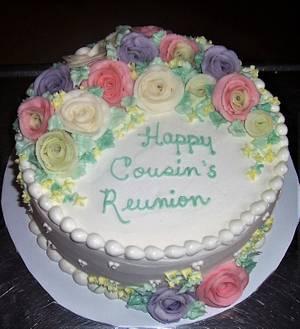 Cousin's Reunion Cake - Cake by BettyA