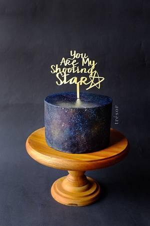 Shooting Star - Cake by Trésor Cakes & Confiseries