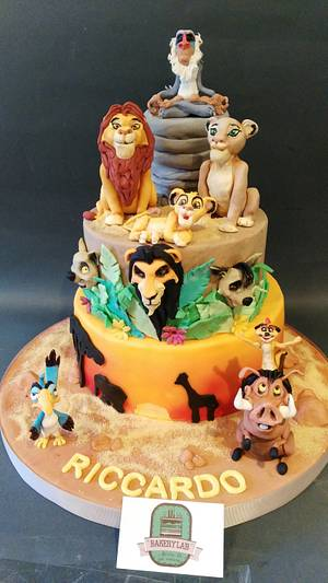 The Lion King - Cake by BakeryLab