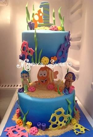 Bubble Guppies Cake - Cake by Mandy