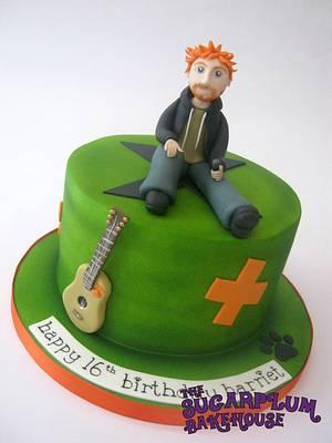 Ed Sheeran Multiply Themed Cake - Cake by Sam Harrison