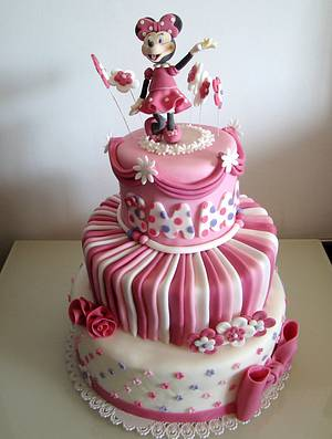 Minnie Mouse cake - Cake by Le Torte di Mary