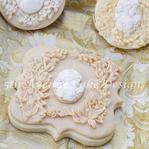 Bas Relief Sculpture Edible Art - Cake by Bobbie
