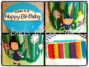 Ben & Holly - Cake by Buds 'n Petal Cakes