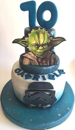 Yoda Star Wars - Cake by Tissì Benvegna