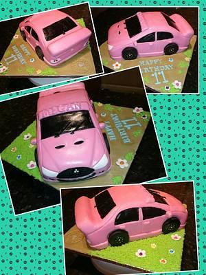 Pink evo  - Cake by christine