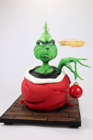 The Grinch Cake - Cake by Tabi Lavigne