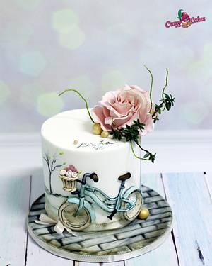 cake for grandma - Cake by crazycakes