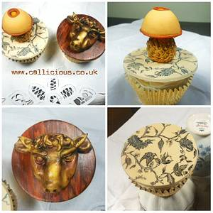 An interview with cupcakes - Cake by Calli Creations