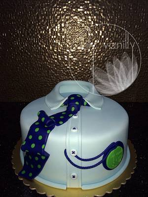 """""""100% Not cotton & Not silk"""":) - Cake by Lily Vanilly"""