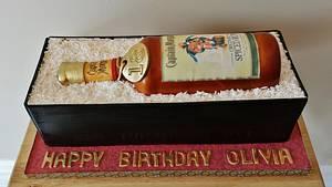 Captain Morgan Spiced Rum Bottle - Cake by Enza - Sweet-E