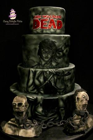 Michonne, The Baking Dead Collaboration - Cake by LeeAnn Wells