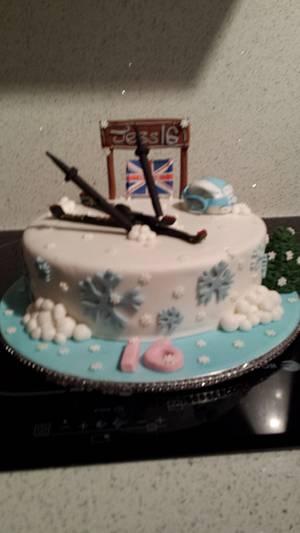 Skiers paradise  - Cake by sofeesmum