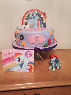 My little Pony Cake - Cake by Kathryn