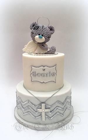 Angel Teddy Bear - Cake by Nessie - The Cake Witch