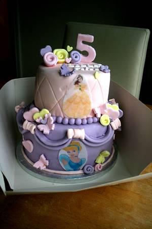 Disney Princess  - Cake by Jodie Taylor