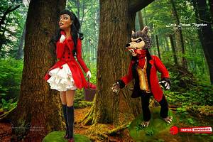 Little Red Riding Hood XXI century - Cake by daniela cabrera