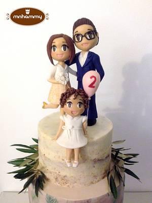 happy family  - Cake by Mnhammy by Sofia Salvador