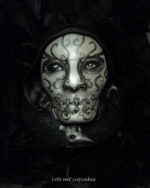 Death eater bellatrix lestrange  - Cake by Allison Henry