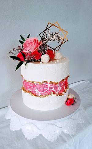Fault line cake - Cake by alenascakes