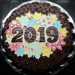 2019 Best wishes - Cake by My Sweet World_Elena