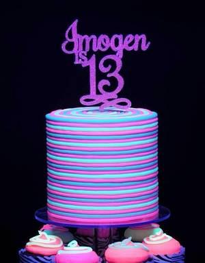 Neon - Cake by Trickycakes