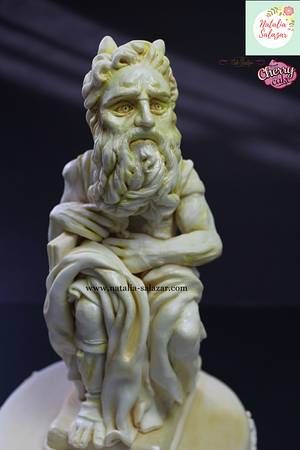 """Moises"" Greco-Roman Challenge - Cake by Natalia Salazar"