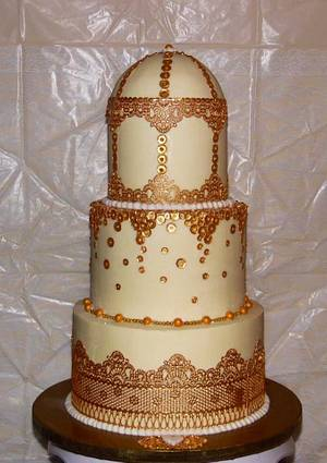 Love Burds Bridal Shower Cake - Cake by Sweets By Monica